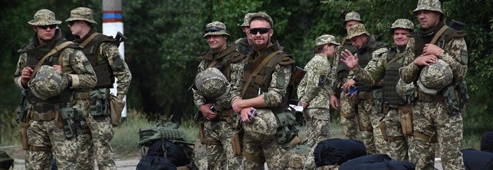 солдати Збройних Сил України
