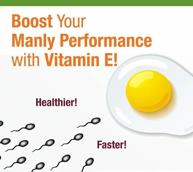 Kebaikan Vitamin E untuk kesuburan Lelaki