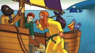 Jonas foge do Senhor de navio