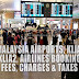 Malaysia Airports, Airlines Booking Fees and Taxes - All You Need To Know