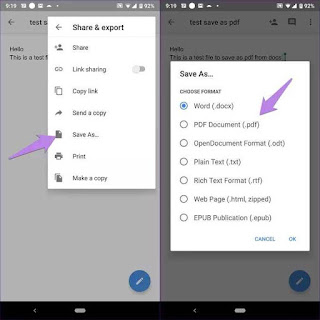 Cara Menyimpan Google Docs sebagai PDF di Desktop dan Seluler