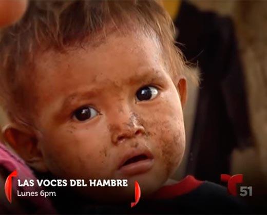 ¡IMPELABLE! Las Voces del Hambre: El reportaje de Telemundo que muestra la cara de la crisis en Venezuela (VIDEOS)