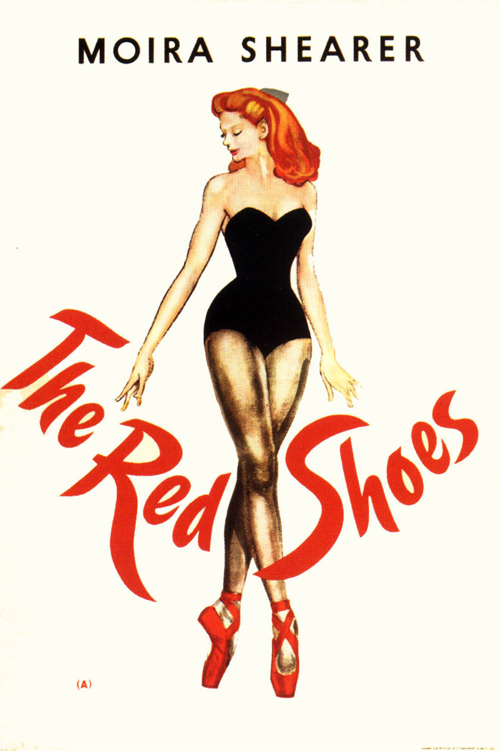 Red Dancing Shoes Fairy Tale Cartoon