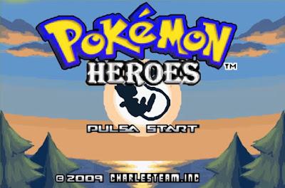 Pokemon Heroes para GBA Imagen Portada
