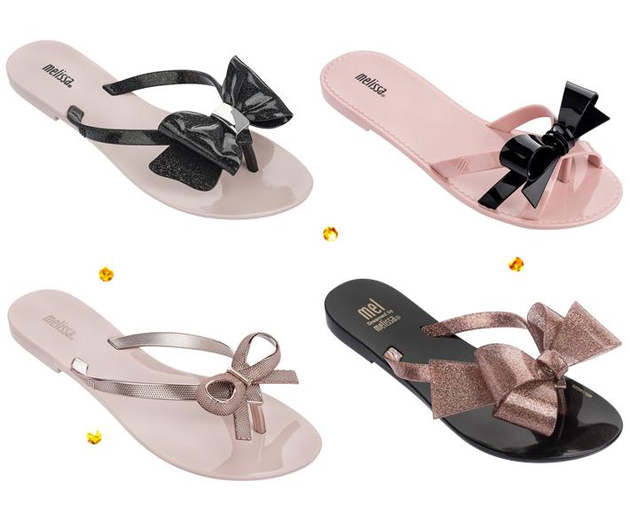 Nova coleção de chinelos Melissa 2018