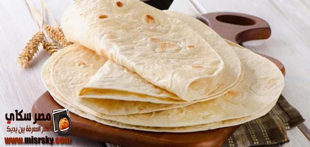 طريقة وخطوات عمل الخبز اللبناني بالصور