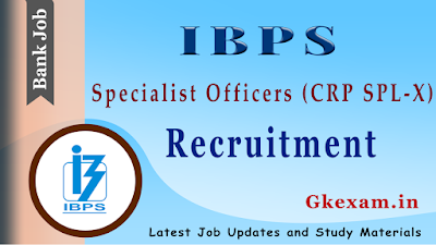 IBPS Specialist Officers Recruitment 2020