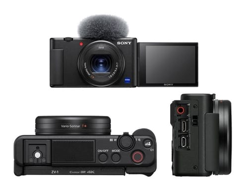 Sony announces ZV-1 to support video bloggers for $ 799