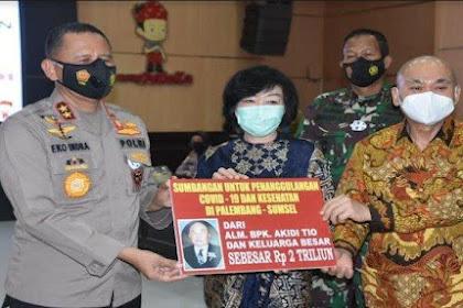 Profil Akidi Tio, Pengusaha Tajir Sumbang Rp 2 Triliun Untuk Penanganan Pandemi Covid-19
