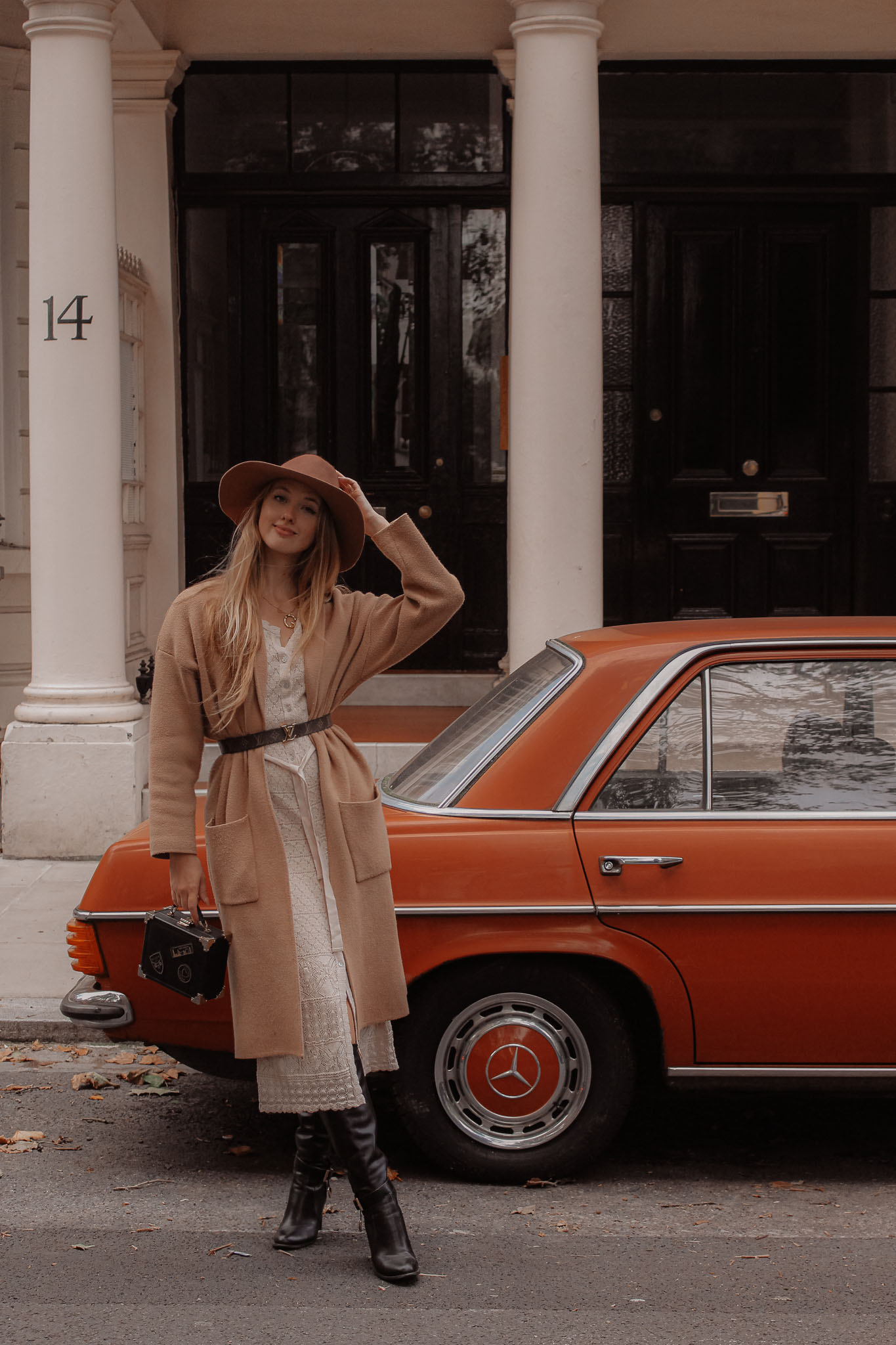 Luxury London Fashion Blogger Vintage