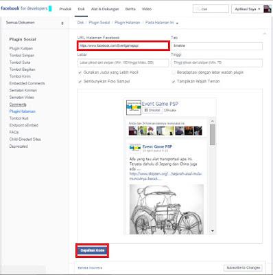 Cara Memasang Widget Facebook Fan Page Melayang di Blog