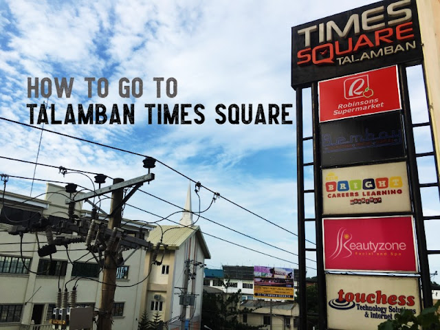 How to go to Talamban Times Square