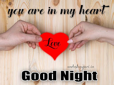 romantic  good night image pic