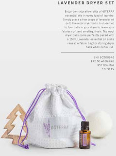 Click to buy the dryer balls and 15mL Essential Oil