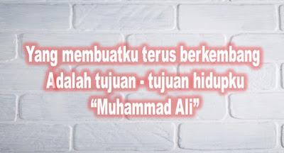 kumpulan kata bijak motivasi kehidupan - Muhammad Ali