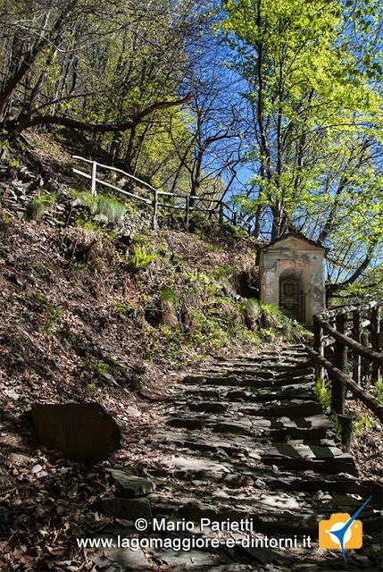 Gli scalini per Monteviasco