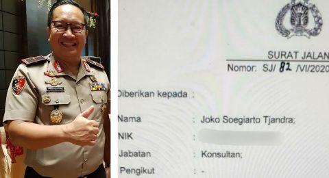 Terbitkan Surat Jalan Semata-mata untuk Menolong Djoko Tjandra, Alvin Lie Sindir Polisi: Mulia Sekali