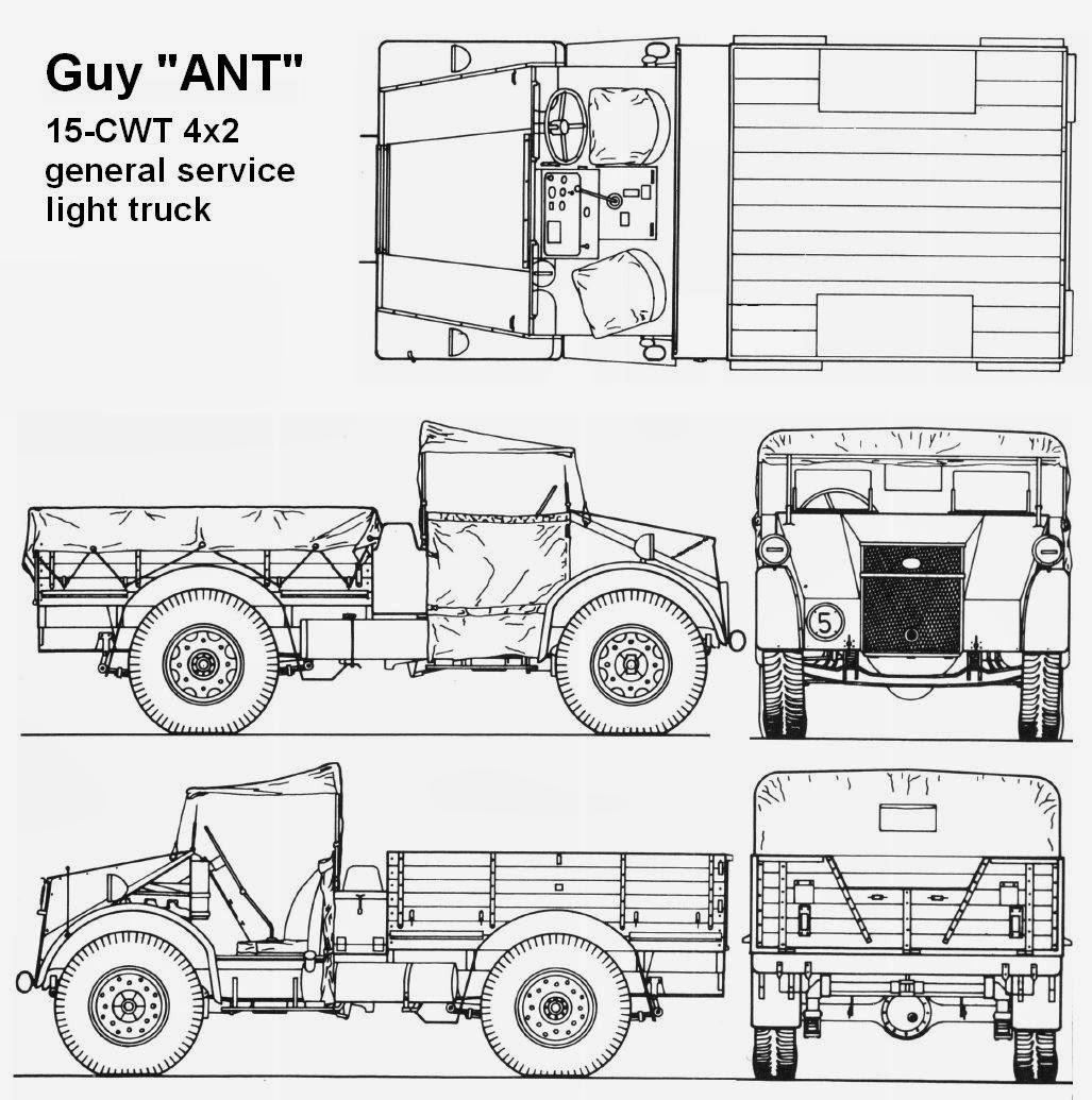 Guy Ant 4x2 15cwt