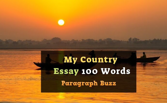 My Country (India) Essay 100 Words