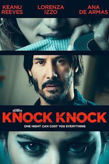 Knock Knock (2015) BluRay 720p 800MB Full Movie [English-DD5.1] ESubs Download MKV