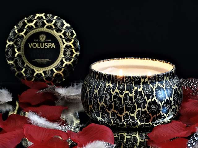 bougie voluspa ambre lumière, ambre lumière voluspa avis, ambre lumiere voluspa candle review, bougie voluspa ambre lumiere revue, bougie parfumee cire vegetale