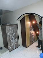 furniture lemari bawah tangga multifungsi semarang