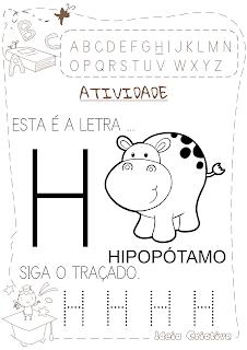 Atividades letra H