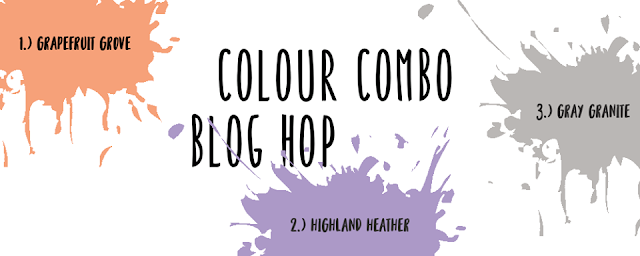 Colour Combo Blog hop Stampin Up