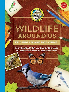 Ranger Rick's Wildlife Around Us Field Guide & Drawing Book: Volume 1 cover