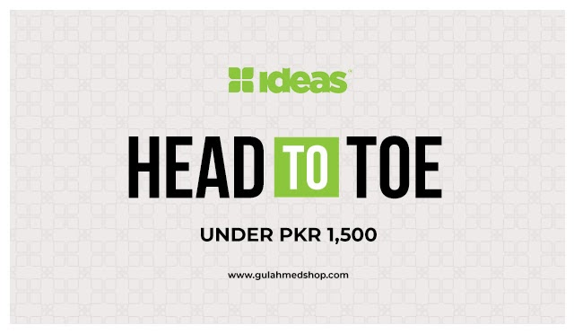"""Gul Ahmed launches """"Head to Toe"""" with everything under Rs 150"""