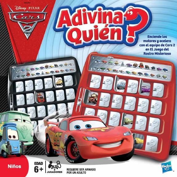 Cine Informacion Y Mas Hasbro Lanzamiento De Juegos De Mesa De Cars 2