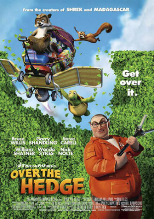 Over The Hedge 2006 BRRip 280Mb Hindi Dual Audio 480p Watch Online Full Movie Download bolly4u