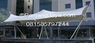 Tenda Membrane Bambu Apus
