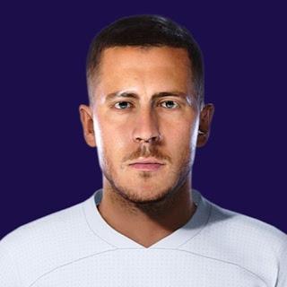 PES 2021 Faces Eden Hazard by Makis