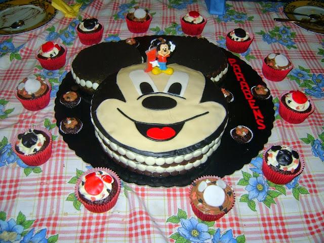 Bolo festa Mickey Mouse