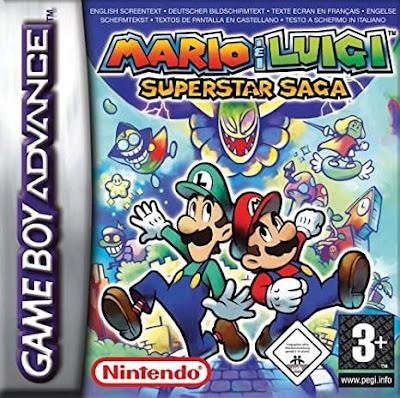 El Pequeño Rincón de los Grandes RPG - Mario & Luigi Superstar Saga - Caja juego Pal