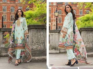 Yashika Mahnoor bin saeed vol 1 | Pakistani lawn Suits Wholesale Price