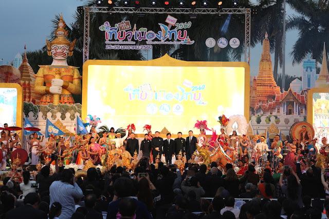 Thailand Tourism Festival 2017 At Lumphini Park 01