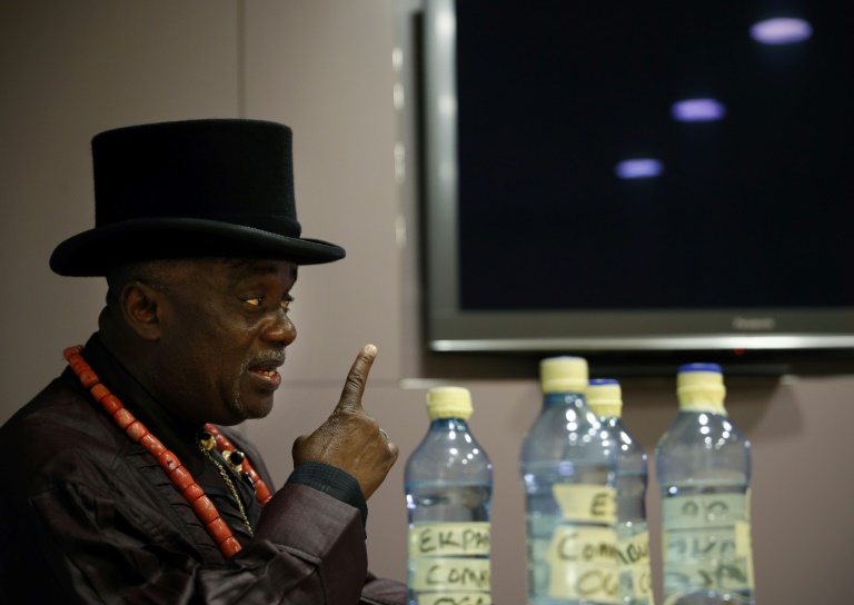 King Emere Godwin Bebe Okpabi of Nigeria's Ogale community said his people had no option but to seek a ruling in London on pollution claims against Shell