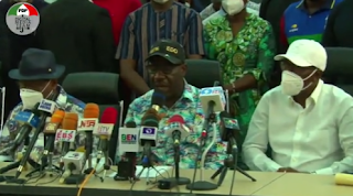 Obaseki Delivers Victory Speech