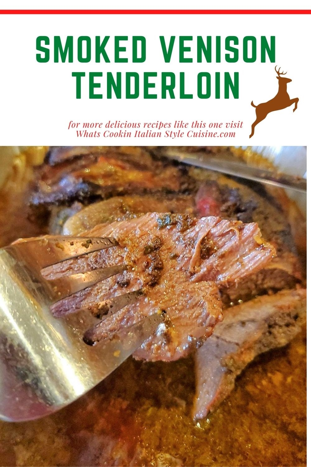 this is a pin for later on how to roast venison tenderloin with a coffee rub in beer