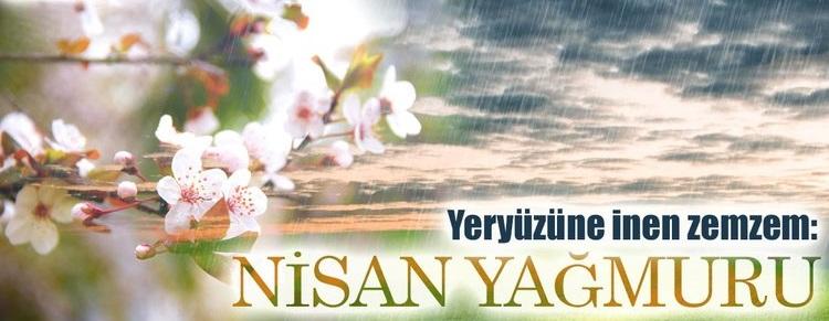 Nisan Yağmurlarında Okunacak Dua