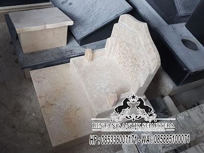 Batu Nisan Marmer, Model Batu Nisan Marmer, Harga Batu Nisan Marmer