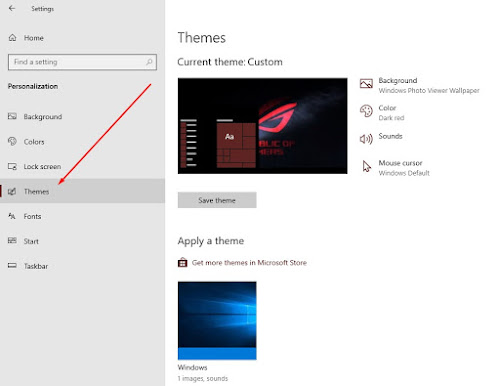 Fitur Themes