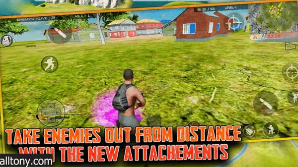 تحميل لعبة Free survival: fire battlegrounds للأندرويد XAPK