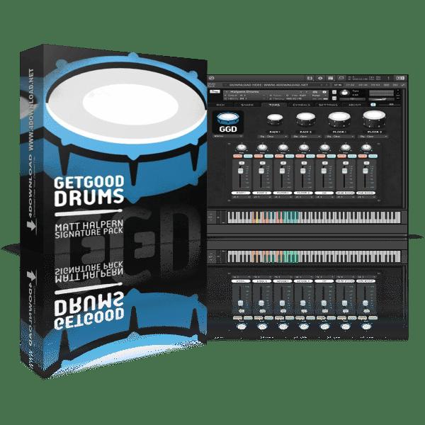 GetGood Drums Matt Halpern Signature Pack 2.0 KONTAKT Library