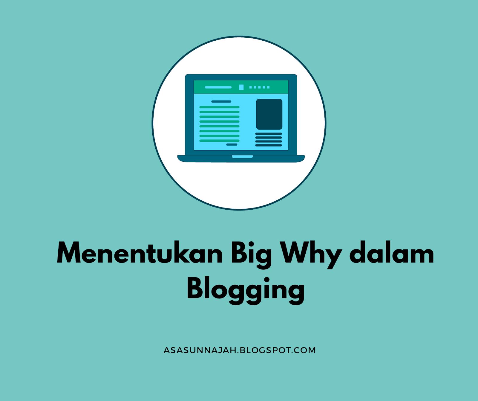 Menentukan Big Why dalam Blogging