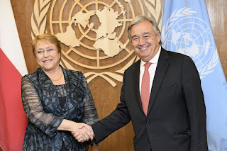 Michelle Bachelet: Appointed UN High Commissioner