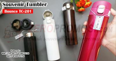 Jual Tumbler Vacuum Flash Bounce (TC-201), Vacuumflask Bounce TC-201, Termos Bounce TC-201 untuk souvenir dengan custom logo, vacuum flask bounce tc-201, Bounce Vacuum Tumbler - TC 201, Jual Vacuum Flask Bounce TC201 (Termos), Tumbler Vacuumflask Bounce TC-201 Harga Grosir