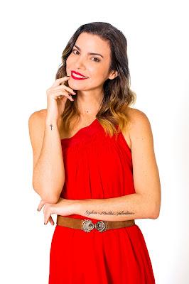 A apresentadora Samantha Urban - Crédito: Divulgação